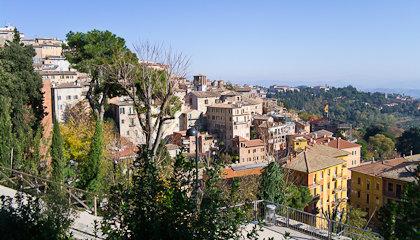 Перуджа - древний город в центральной Италии