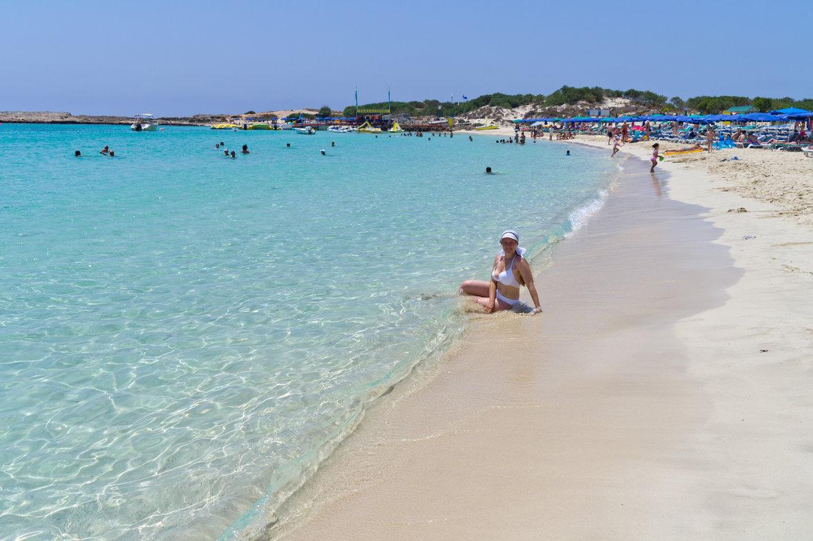 Фото пляжа фиг три протарас 92