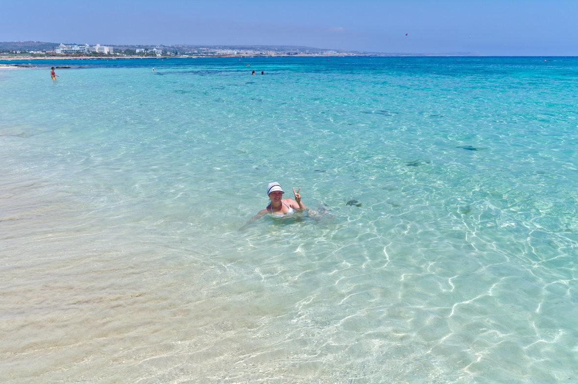 Фото пляжа фиг три протарас 24