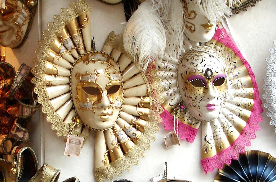 Карнавальные маски папье-маше